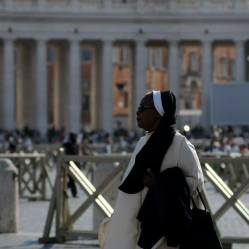 A nun in Vatican City