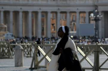 A nun in Vatican City