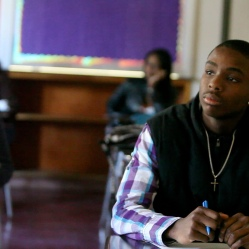 Teen who struggled to stay in school attends class