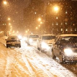 Heavy snow in Rochester