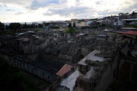 Herculaneum in Italy