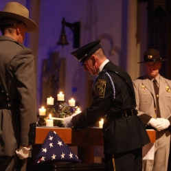 Officer remember fallen brothers