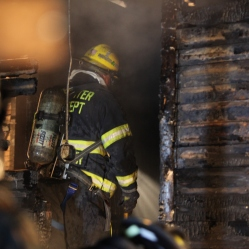 Rochester firefighters enter home
