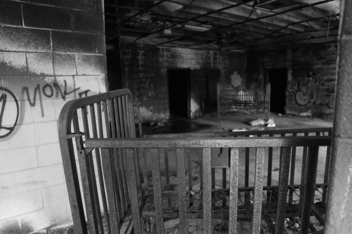 Forest Haven mental asylum nursery