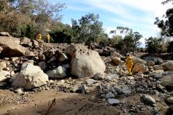 Group studies Montecito Debris Flow