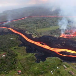 Fissure in Hilo, Hawaii